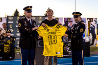 2017-10-16 Colson Yankoff Presentation of All-American Jersey